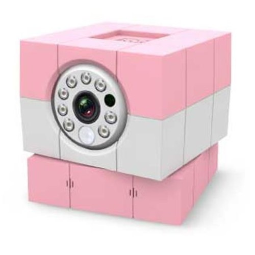 Amaryllo iBaby Plus 1MP Wi-Fi Camera with Cloud Subscription, Pink ACC1308C2PK
