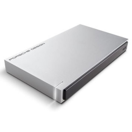 LaCie 2TB Porsche Design Mobile Hard Drive for Mac (Light Grey)