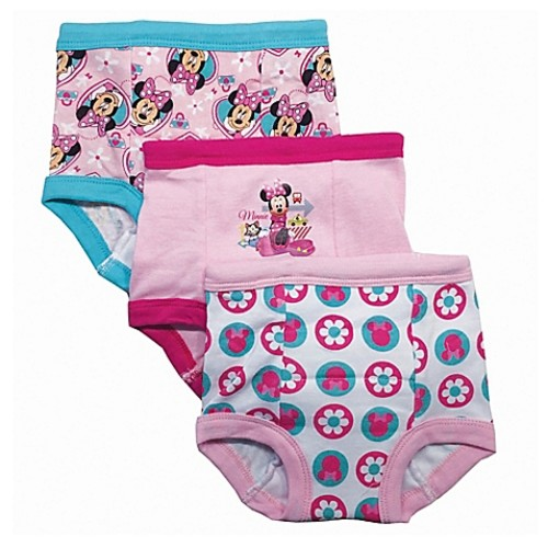 Disney Size 2T 3-Pack Minnie Mouse Training Pant