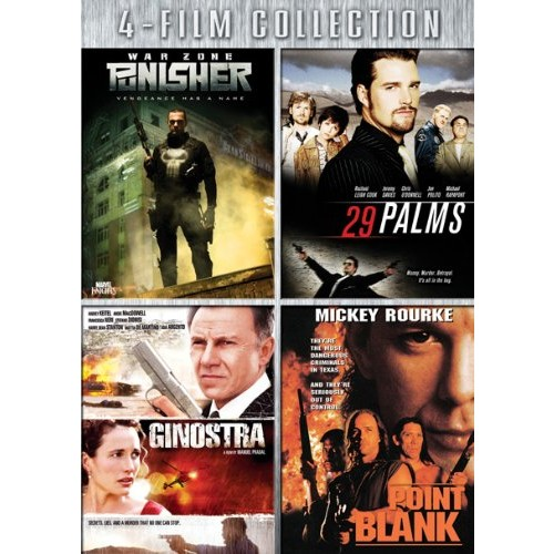 Four-Film Collection: (Punisher: War Zone / 29 Palms / Ginostra / Point Blank)