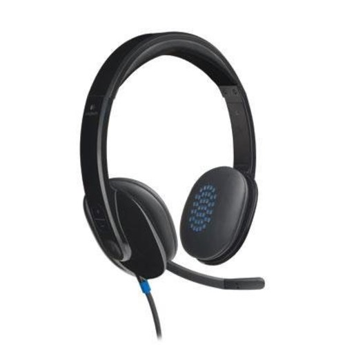 Logitech High-performance USB Headset H540 for Windows and Mac, Skype Certified [Standard Packaging]