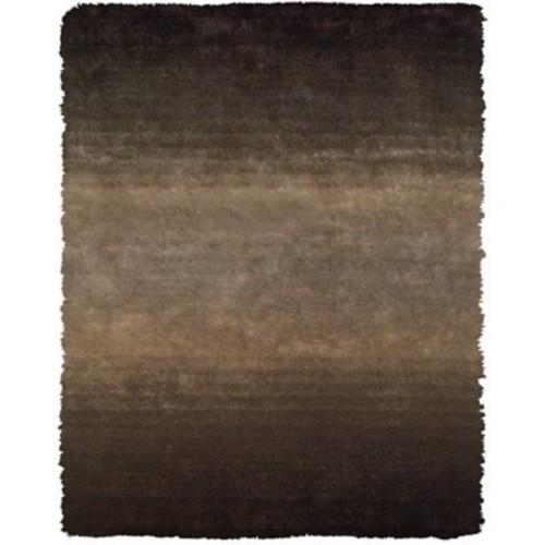 Varick Gallery Sapienza Dark Gray/Brown Area Rug; 7'6'' x 9'6''