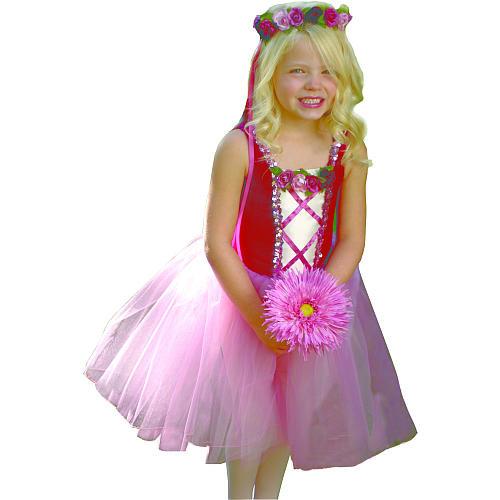 Burgundy Rosetta Princess Dress - Medium Child