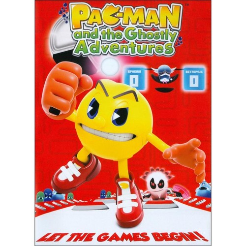 Pac-Man and the Ghostly Adventures: Let the Games Begin [DVD]