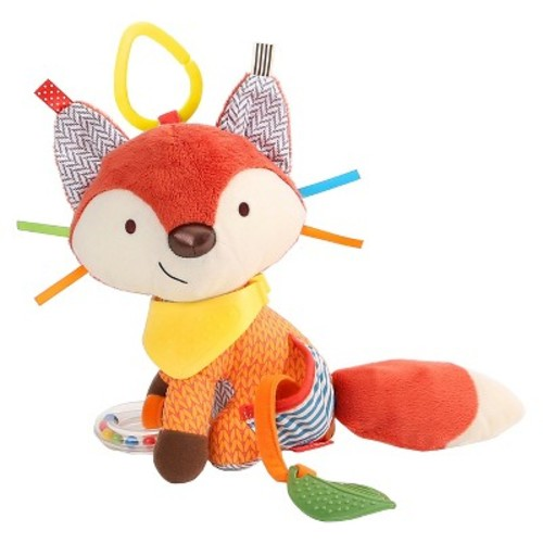 Skip Hop Bandana Buddies Stroller Toy, Fox
