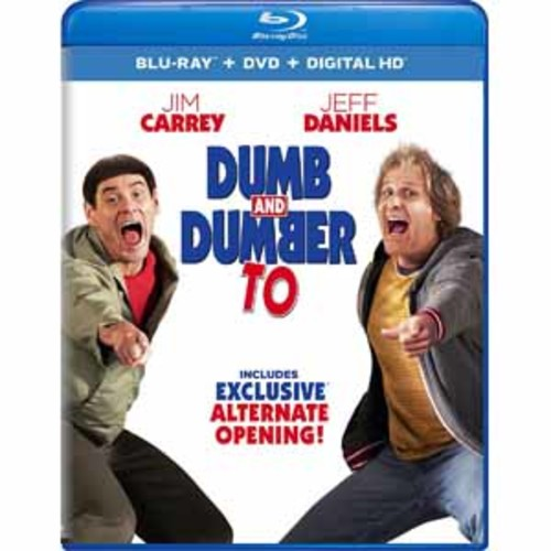 Dumb and Dumber To [2 Discs] [Includes Digital Copy] [Ultraviolet] [Blu-ray/DVD]