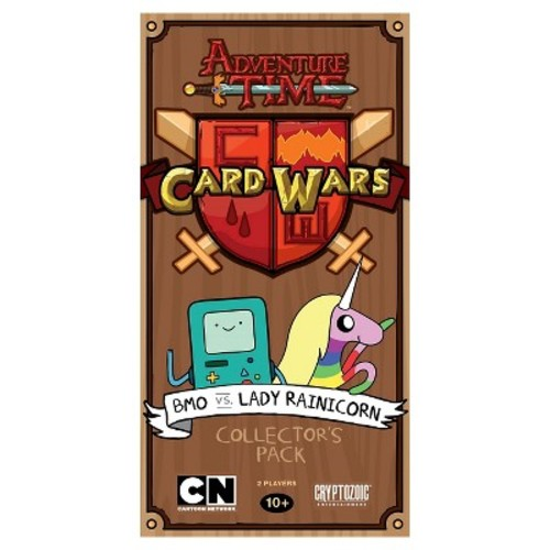 Adventure Time BMO vs Lady Rainicorn Card Wars Game Collector's Pack