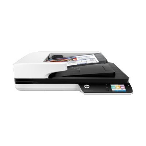 HP Inc. Scanjet Pro 4500 fn1 - Document scanner - Duplex - A4/Letter - 1200 dpi x 1200 dpi - up to 30 ppm (mono) / up to 30 ppm (color) - ADF (50 sheets) - up to 4000 scans per day - USB 3.0, Gigabit LAN, Wi-Fi(n) (L2749A#BGJ)