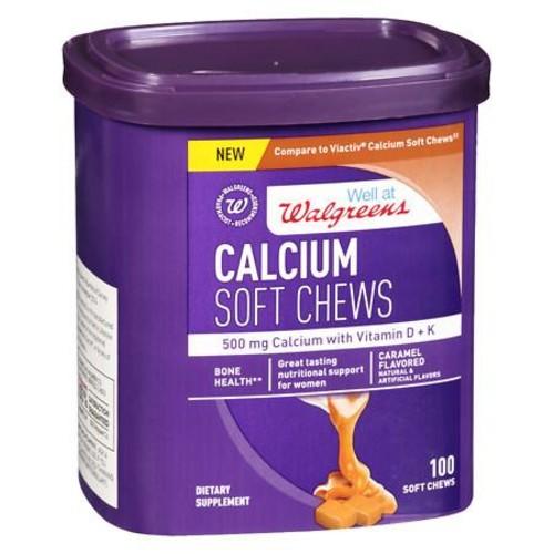 Walgreens Calcium Soft Chews Caramel