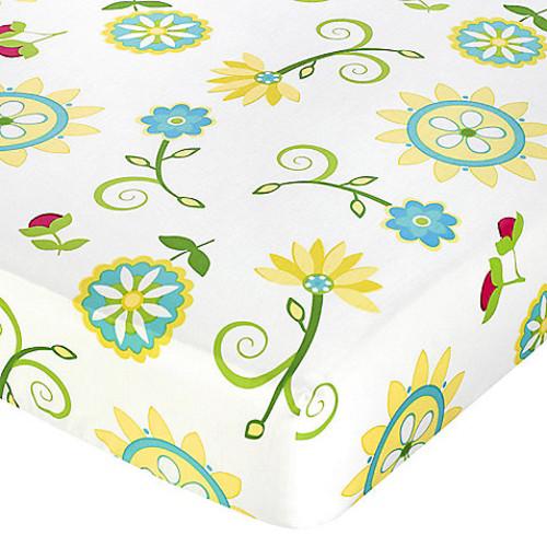 Sweet Jojo Designs Layla Fitted Crib Sheet