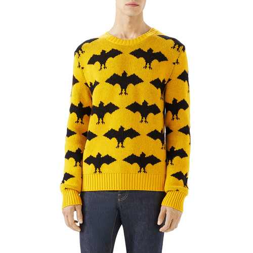 GUCCI Bat Crewneck Sweater