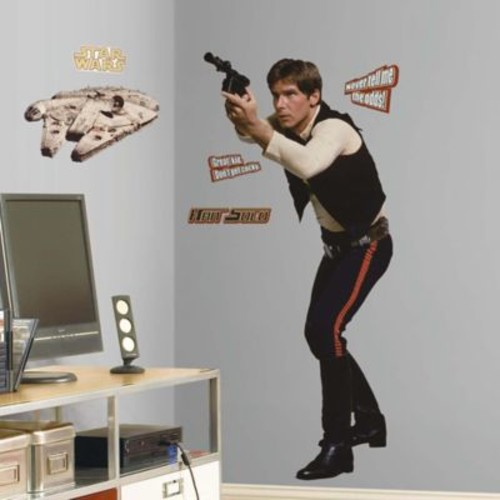 Star Wars Classic Han Solo Peel and Stick Giant Wall Decal