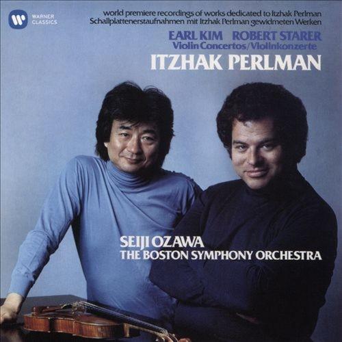 Earl Kim, Robert Starer: Violin Concertos [CD]