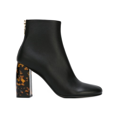 STELLA MCCARTNEY Tortoiseshell Effect Ankle Boots