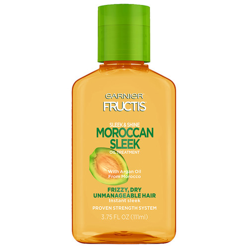 Garnier Fructis Haircare Sleek & Shine Moroccan Sleek Oil Treatment for Frizzy, Dry, Unmanageable Hair