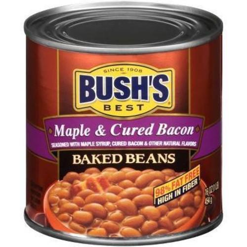 Bush's Maple Cured Bacon Baked Beans - 16oz
