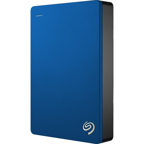 Seagate - Backup Plus 5TB External USB 3.0 Portable Hard Drive - blue