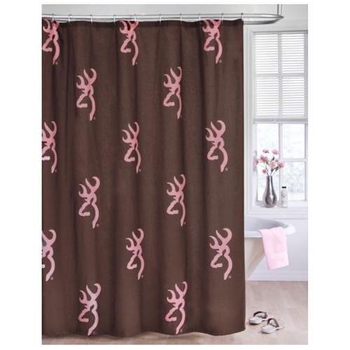 Buckmark Shower Curtain