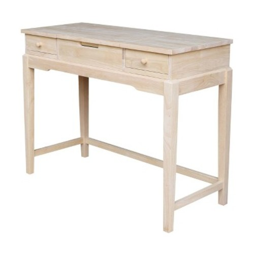 Vanity Table Unfinished - International Concepts