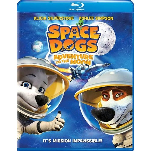 Space Dogs: Adventure to the Moon [Blu-ray] [2016]