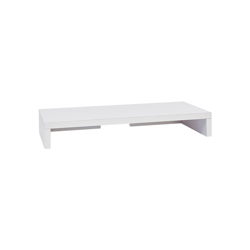 Eco Friendly Computer Monitor Stand by Way Basics | white | Gilt