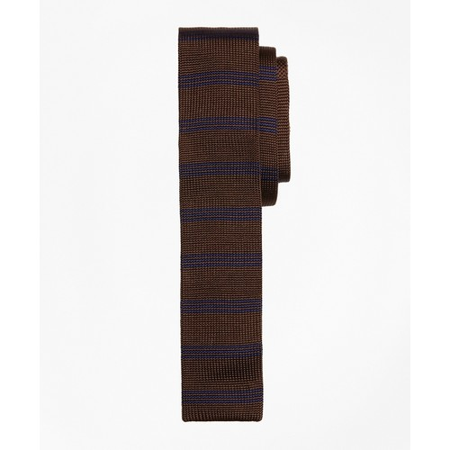 Knit Silk Slim Tie