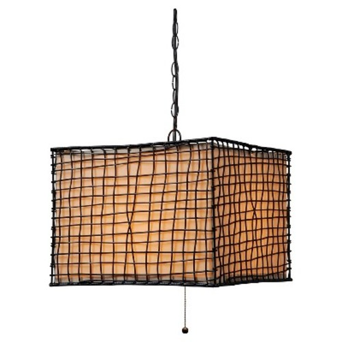 Outdoor Pendant Light Kenroy Bronze Metal