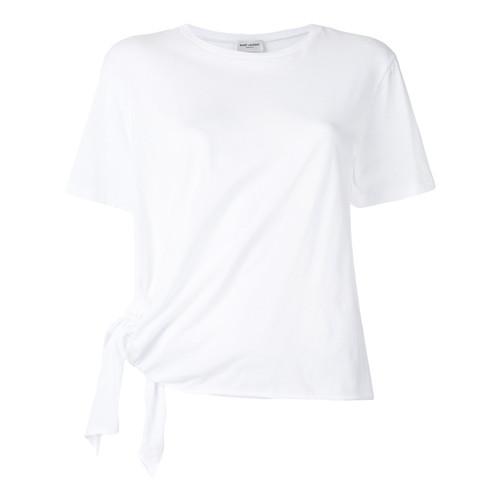 SAINT LAURENT Tie Detail T-Shirt
