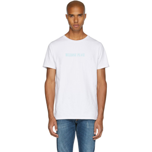 White 'Melrose Place' T-Shirt