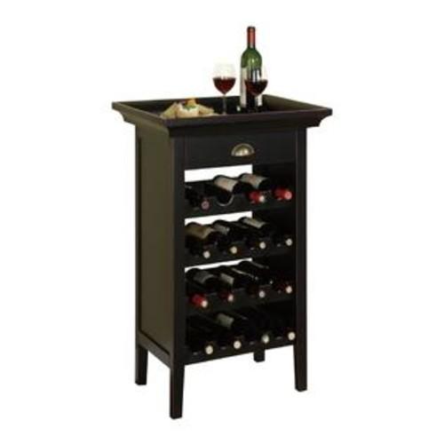 POWELL Cabinet Wine Rack