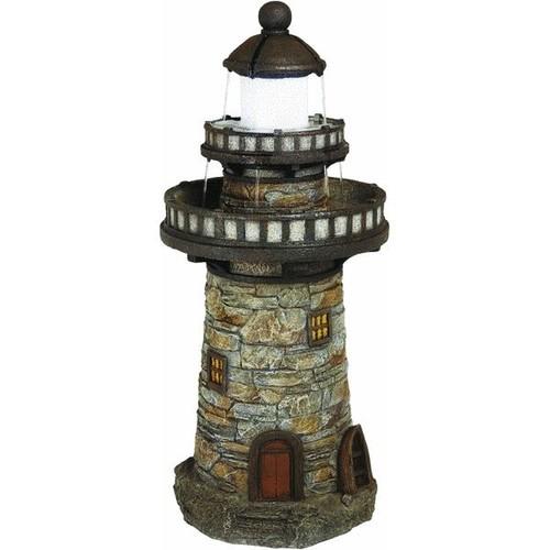 Best Garden Lighthouse Fountain - WXFO2842