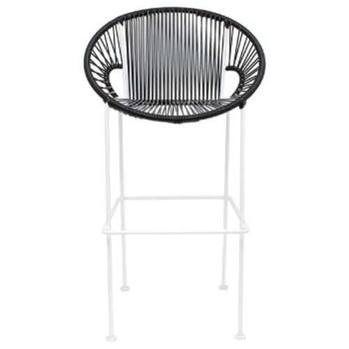 Innit Designs Puerto Stool [Frame Finish : Black Finish]