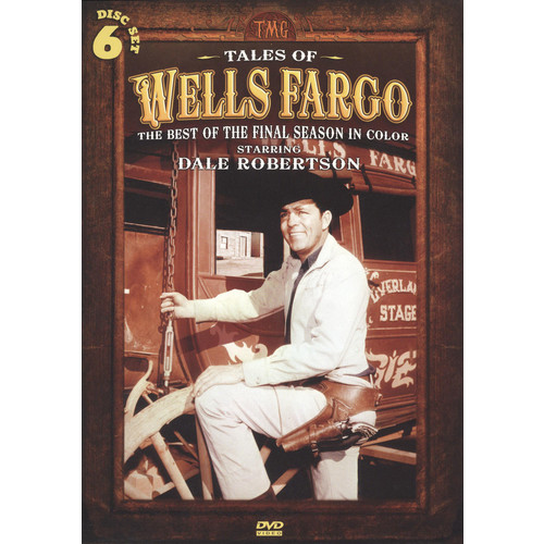 Tales of Wells Fargo: The Best of the Final Season in Color [6 Discs] [DVD]