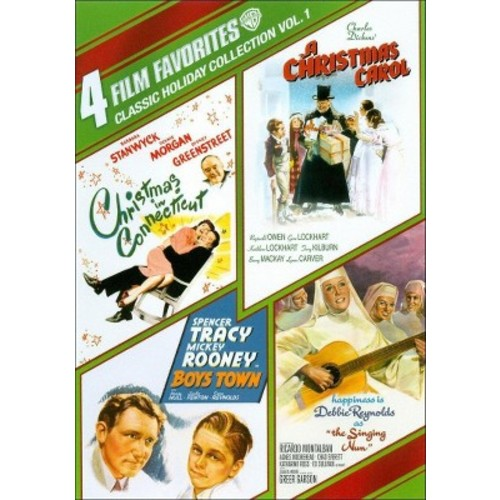Classic Holiday Collection, Vol. 1: 4 Film Favorites (4 Discs) (dvd_video)