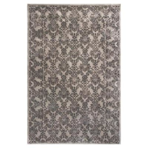 Donny Osmond Home Silver Tranquility 3 ft. 3 in. x 4 ft. 11 in. Area Rug