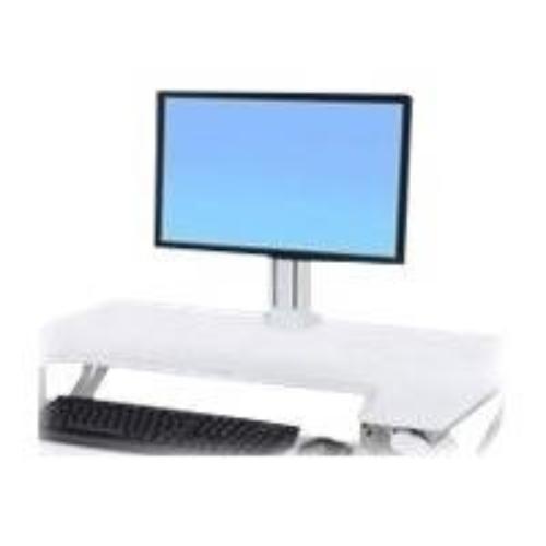 Workfit Single Ld Monitor Bright White Kit (97-935-062)