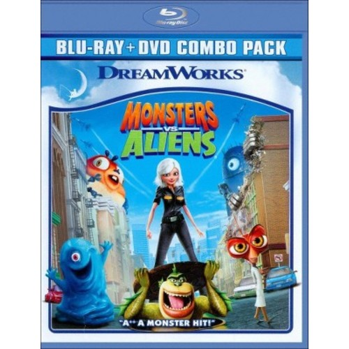 Monsters vs. Aliens (2 Discs) (Blu-ray/DVD)