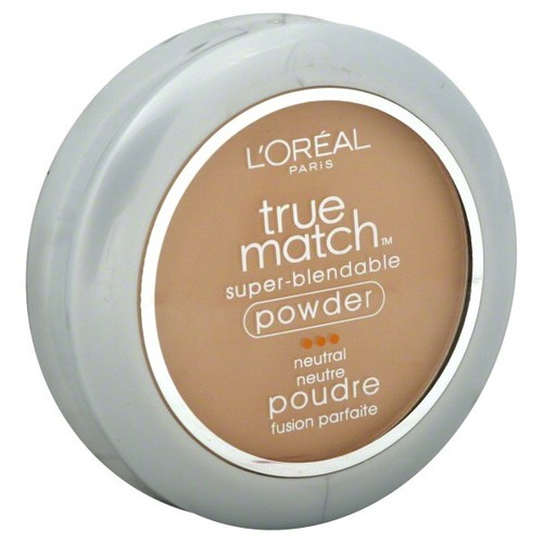 L'Oreal True Match Super-Blendable Powder, Neutral, True Beige N5, 0.33 oz (9.5 g)
