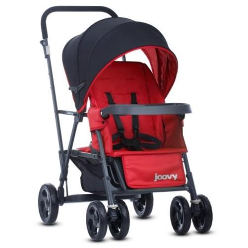 Joovy Caboose Graphite Tandem Stand-On Stroller - Red