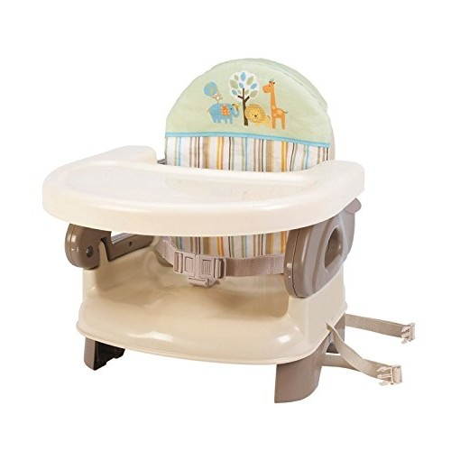Summer Infant Deluxe Comfort Booster Seat, Folding High Chair,