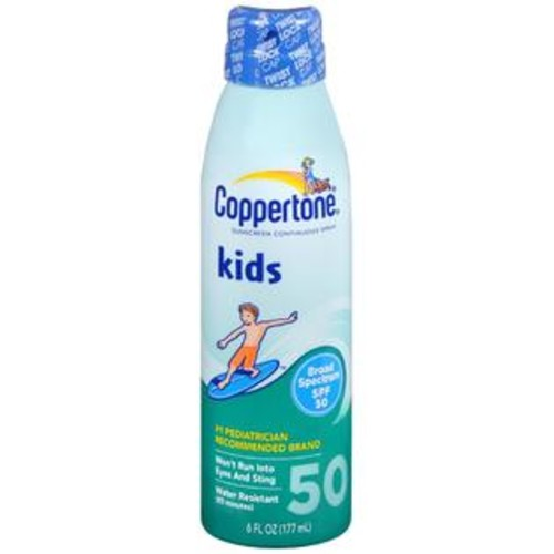 Coppertone Kids Sunscreen Continuous Spray SPF 50, 6 OZ