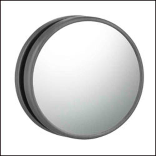 Magnetic Magnified Mirror [Italian Bronze; 33115]