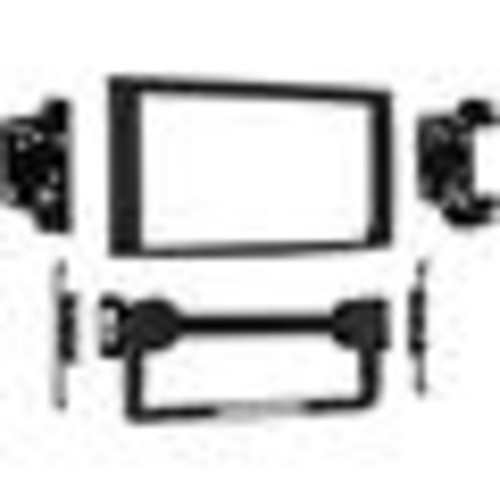 Metra 95-6533B Dash Kit Fits select 2004-10 Chrysler, Dodge, and Jeep models  double-DIN radios