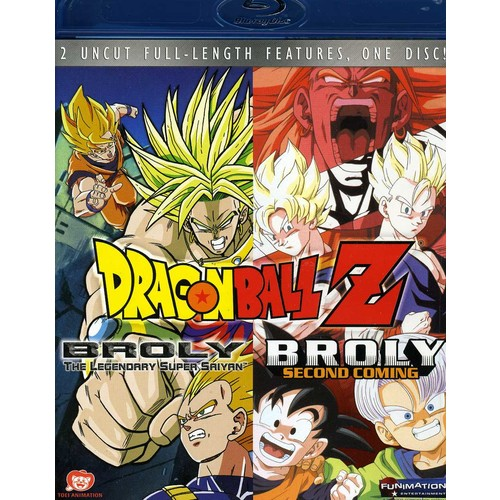 Dragon Ball: Broly Double Feature (Blu-ray Disc)