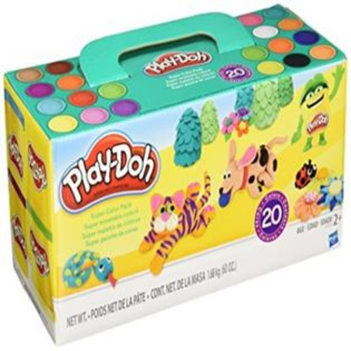 Hasbro Play-Doh Modeling Compound - Super Color Pack