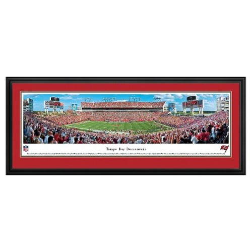 NFL Blakeway Stadium View Deluxe Framed Wall Art - Tampa Bay Buccaneers