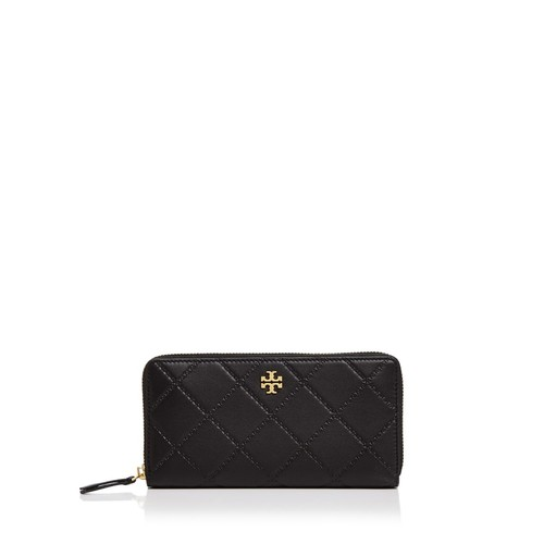 TORY BURCH Monroe Zip Leather Continental Wallet