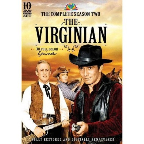 The Virginian: The Complete Season Two [10 Discs] [DVD]
