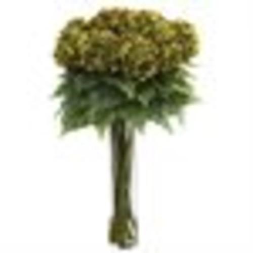 Nearly Natural Hydrangea with Cylinder Silk Flower Arrangement