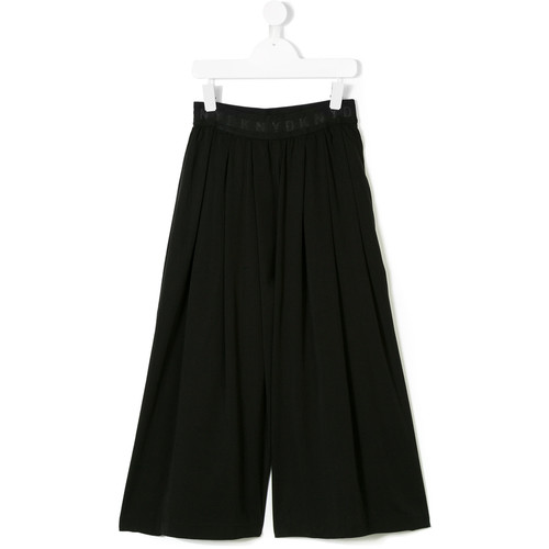 back print pleated trousers
